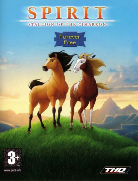 Обложка Spirit: Stallion of the Cimarron - Forever Free