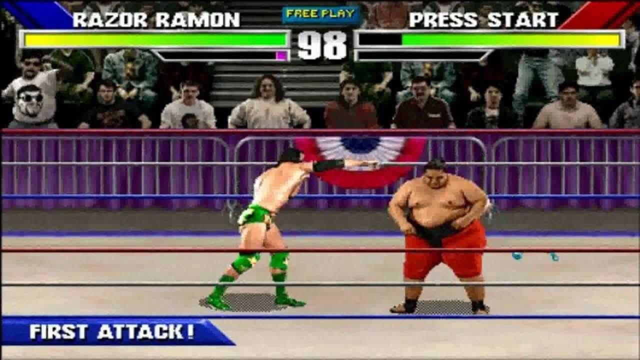 Wrestlemania игра скачать торрент симуляторы
