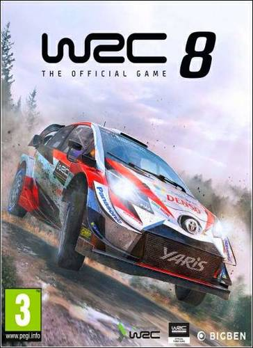 Обложка WRC 8 FIA World Rally Championship