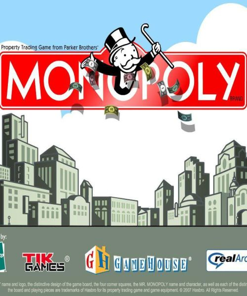 Обложка Monopoly by Parker Brothers