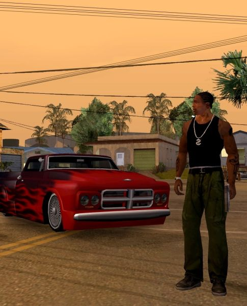 Grand Theft Auto: San Andreas - PS2 to PC