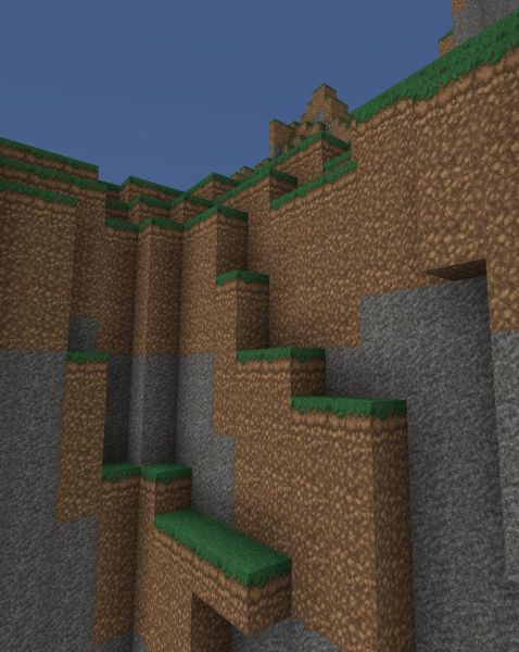 Minecraft Beta: Bump Mapping HD Texture Pack