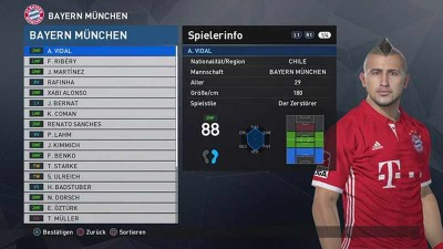 второй скриншот из PES 2018 PC WEPES Patch 1.0 + Bundesliga