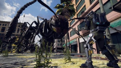 второй скриншот из Earth Defense Force: Iron Rain
