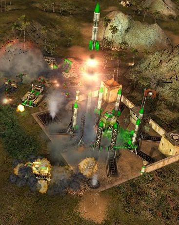 Обложка 960 карт для Command and Conquer Generals Zero Hour