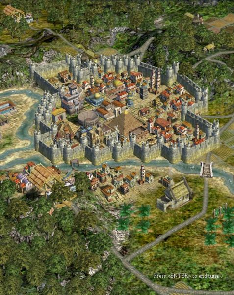Civilization IV Beyond The Sword: The Map Mod