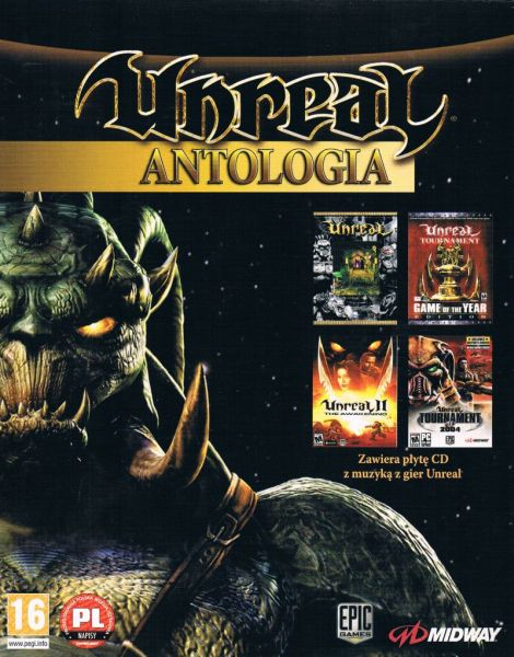 Обложка Unreal Anthology