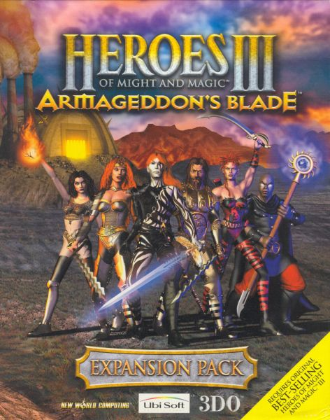 Обложка Heroes of Might and Magic III: Armageddon's Blade