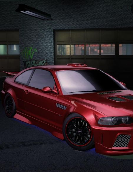 Обложка Need For Speed Carbon Graphic Mod HD 2003 BMW M3