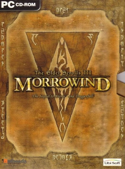 Обложка The Elder Scrolls 3: Morrowind Construction Set CD