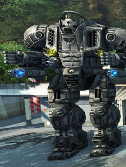 Crysis Wars - MechWarrior: Living Legends