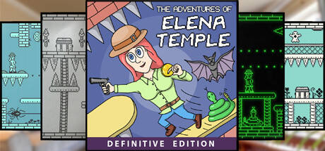 Обложка The Adventures of Elena Temple: Definitive Edition