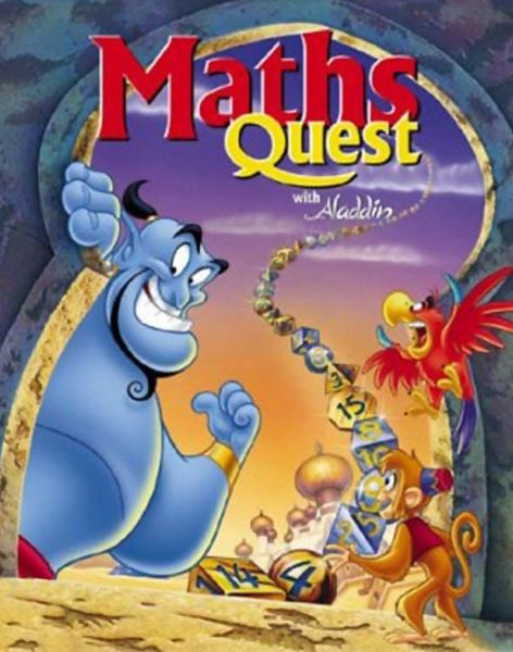 Обложка Disney's Math Quest with Aladdin
