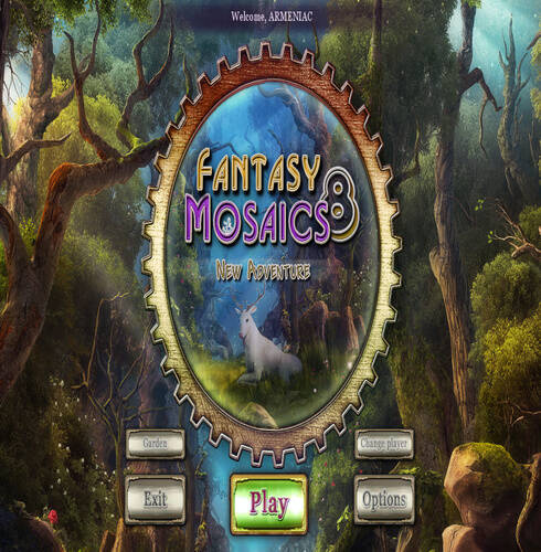 Fantasy Mosaics 8 New Adventure