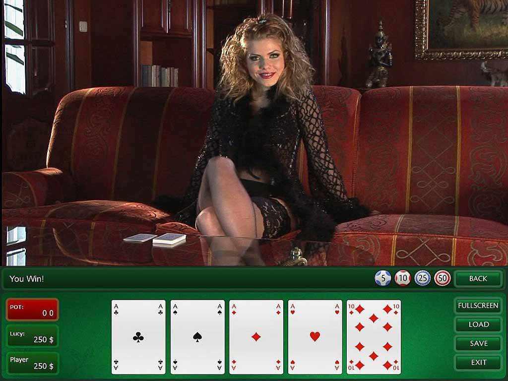 Strip poker games free online