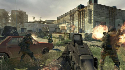 второй скриншот из Call of Duty: Modern Warfare 2 Multiplayer Only RUS (iw4x)