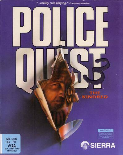 Обложка Police Quest III: The Kindred