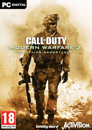 Обложка Call of Duty: Modern Warfare 2 Campaign Remastered