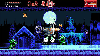 четвертый скриншот из Bloodstained: Curse of the Moon 2