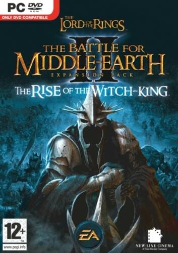 Обложка The Lord of the Rings: The Battle for Middle-earth II: The Rise of the Witch-king