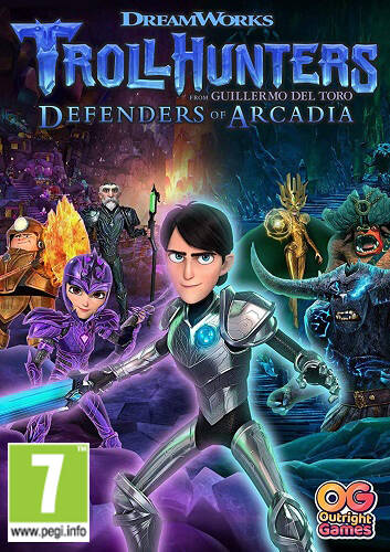 Обложка Trollhunters: Defenders of Arcadia