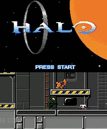 Обложка Pixel Force: Halo