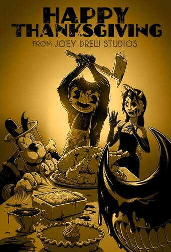 Обложка Bendy and the Ink Machine: Complete Edition Chapters 1–5 (Moving Pictures, The Old Song, Rise and Fall, Colossal Wonders, The Last Reel)