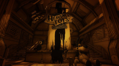 третий скриншот из Bendy and the Ink Machine: Complete Edition Chapters 1–5 (Moving Pictures, The Old Song, Rise and Fall, Colossal Wonders, The Last Reel)