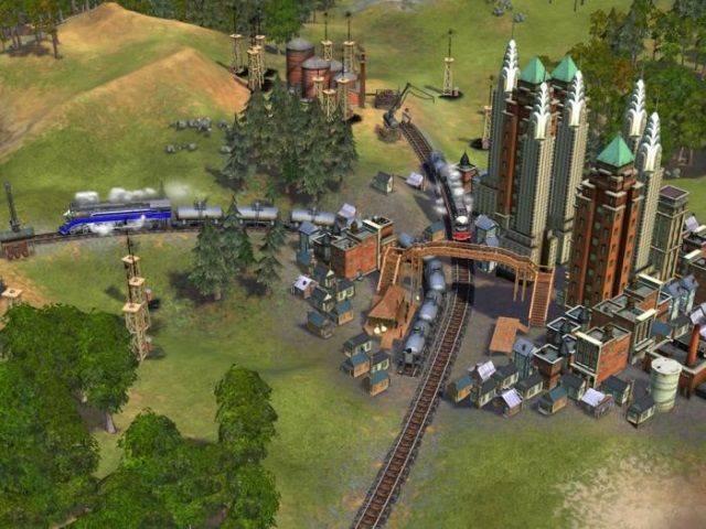 railroad tycoon 4 скачать торрент