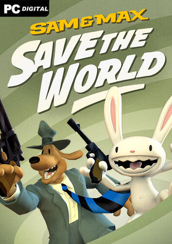 Обложка Sam & Max Save the World Remastered