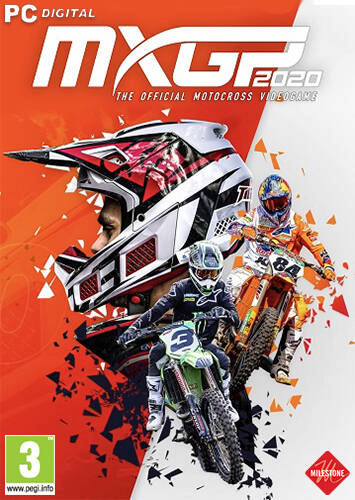 Обложка MXGP 2020 - The Official Motocross Videogame