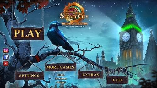 Обложка Secret City 5: Mysterious Collection Collectors Edition