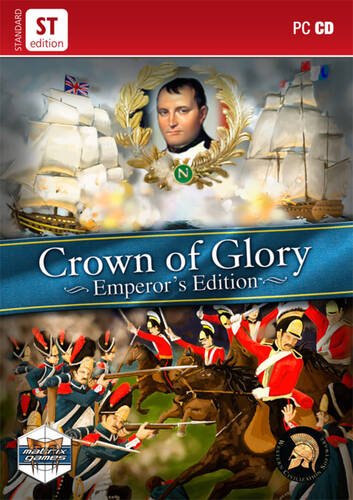 Обложка Crown of Glory: Europe in the Age of Napoleon