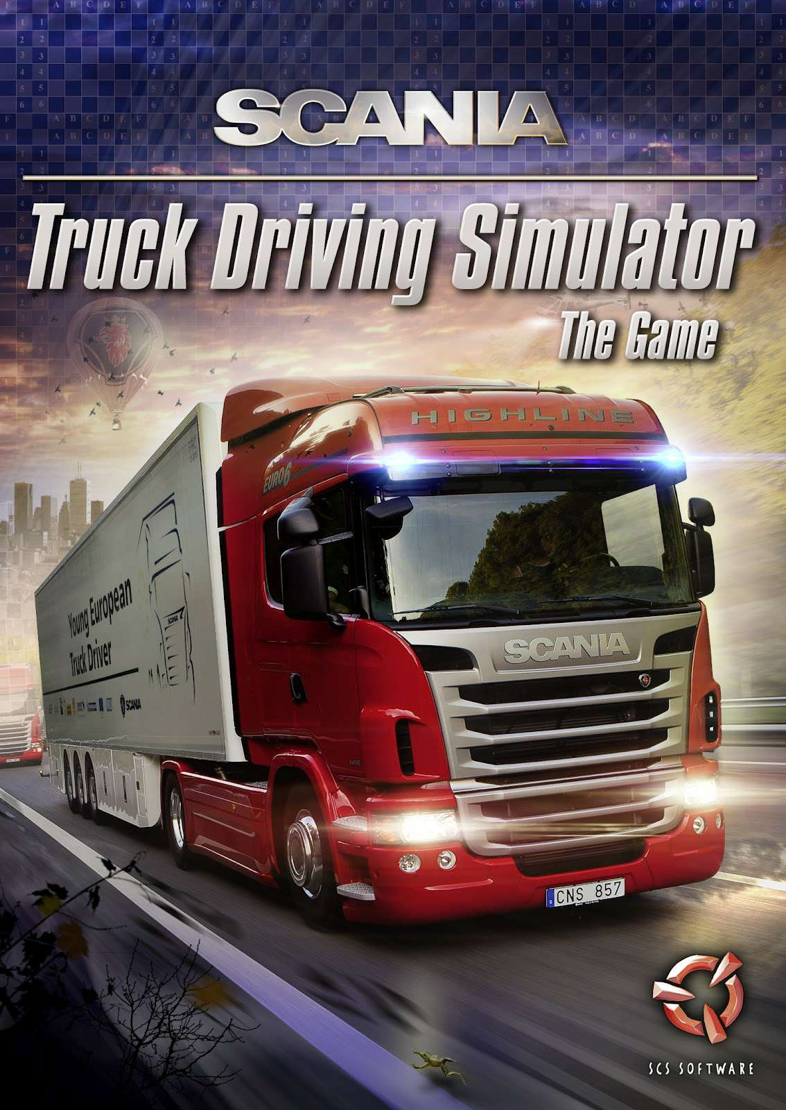 Обложка Truck Racing Simulator