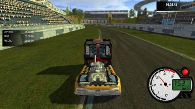 второй скриншот из Truck Racing Simulator