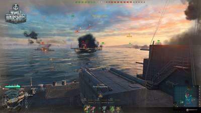первый скриншот из World of Warships