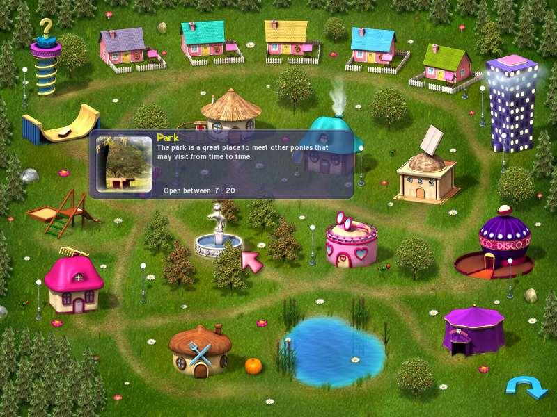 Игру Мир Пони