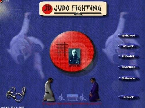 3D Judo Fighting