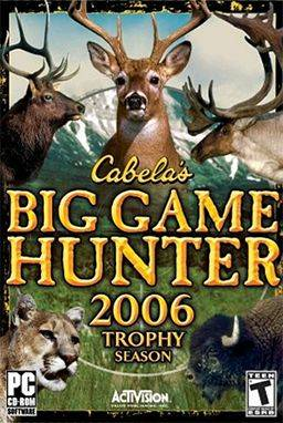 Обложка Cabela's Big Game Hunter 2006 Trophy Season