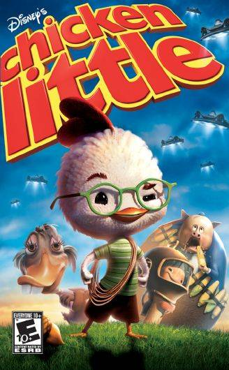 Обложка Chicken Little The Game