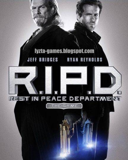 Обложка R.I.P.D. The Game