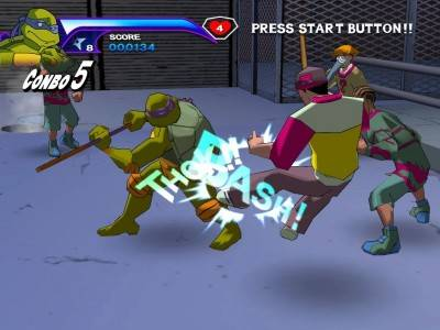 второй скриншот из Teenage Mutant Ninja Turtles: The Video Game