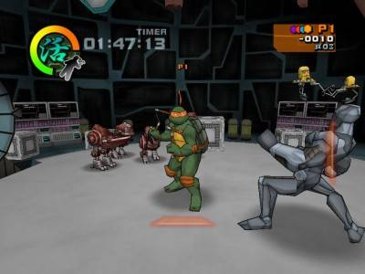 третий скриншот из Teenage Mutant Ninja Turtles: The Video Game