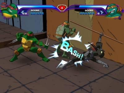 первый скриншот из Teenage Mutant Ninja Turtles: The Video Game