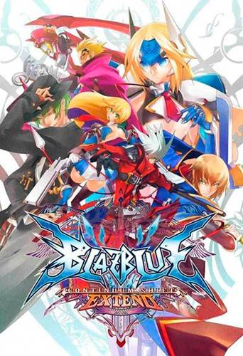 Обложка BlazBlue: Continuum Shift Extend