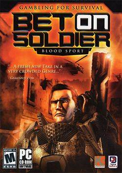 Обложка Bet On Soldier: Blood Sport