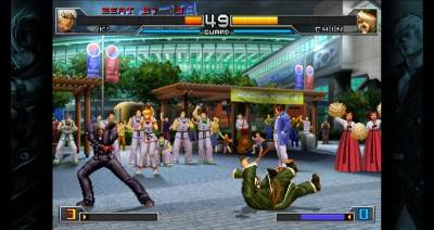 первый скриншот из The King of Fighters 2002: Unlimited Match