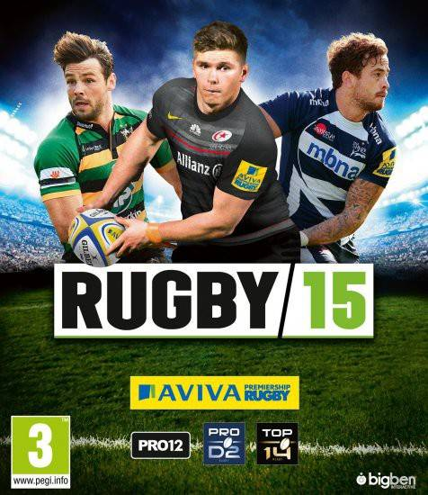 Обложка Rugby 15