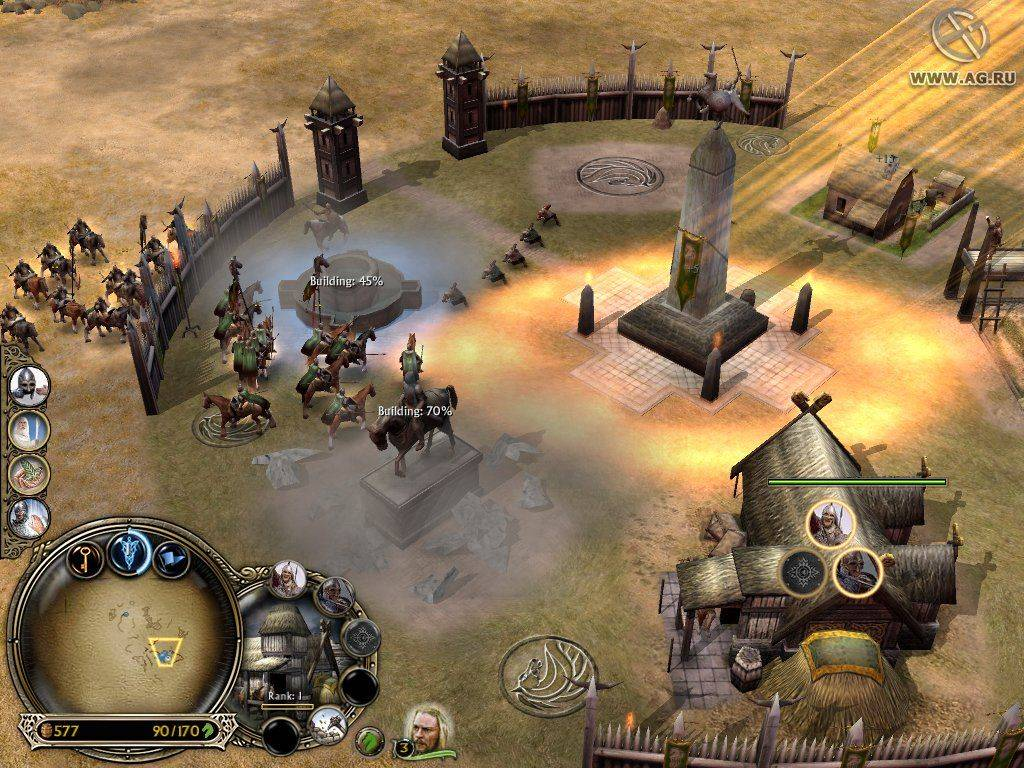 Скачать онлайн властелин колец стратегия игра игры онлайн бесплатно новые игры маша и медведь