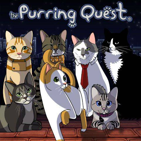 Обложка The Purring Quest